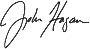 John Hagan signature